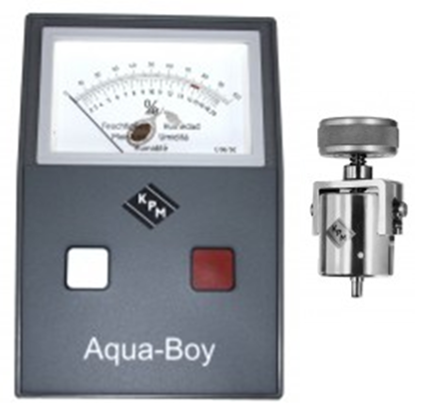 Aqua Boy Cocoa Product Moisture Meter / KAMIII with Cup Electrode