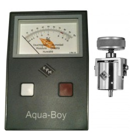 Aqua Boy Tobacco Moisture Meter / TAMII (Moisture Range 8 - 20%) Includes Cup Electrode (202)