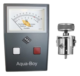 Aqua Boy Tobacco Moisture meter / TAMIII (Moisture range 12 - 26%) Includes Cup Electrode (202)